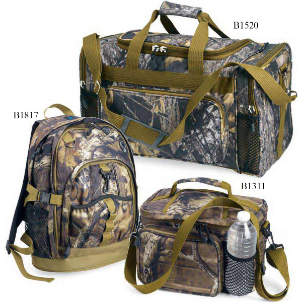 "Personalized KC Caps Mossy Oak 20"" Duffel Bag"