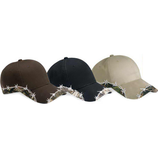 Personalized Outdoor Cap Barb Wire Camo Cap