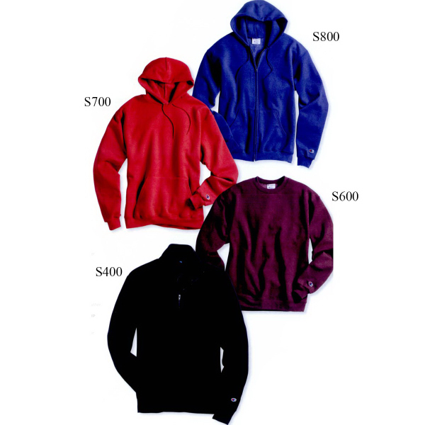 Customized Champion (R) Eco (R) Full-zip Hooded Sweatshirt