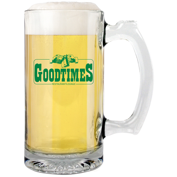 Imprinted 12 oz Glass Sport Mug