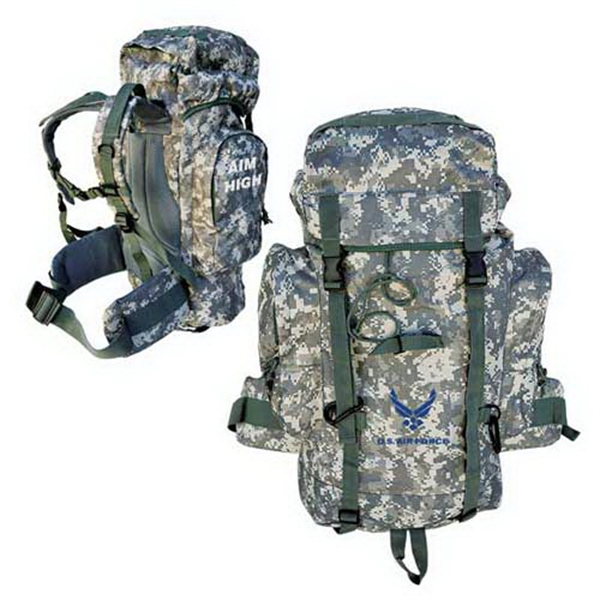 Custom Heavy duty jumbo outdoor backpack