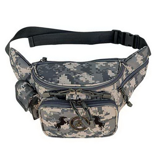 Personalized ACU deluxe fanny pack