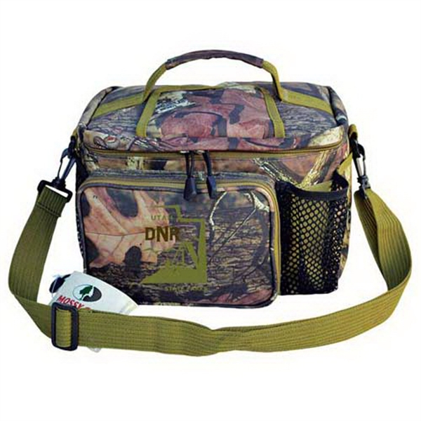 Personalized Mossy Oak (R) camo outdoor 12-pack cooler