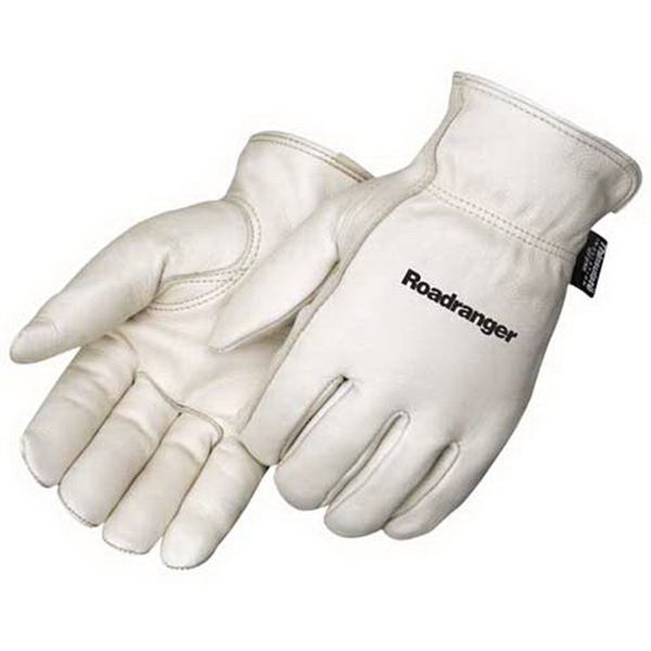 Printed Premium grain cowhide driver glove with Thinsulate lining