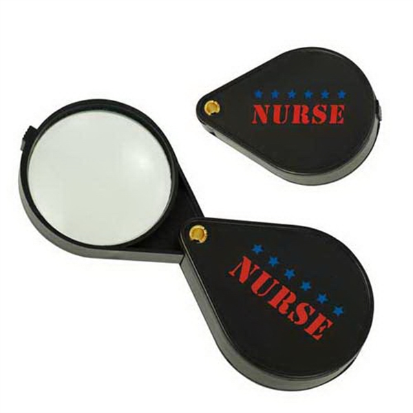 Personalized 6.45X Pocket Folding Magnifier