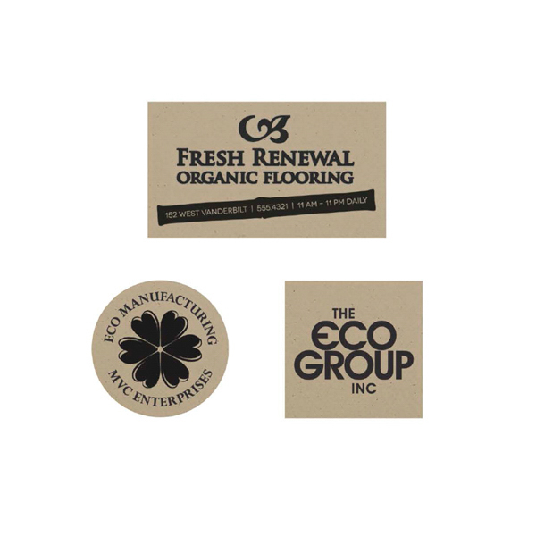 Customized BIC (R) Ecolutions (R) Recycled Paper Magnets