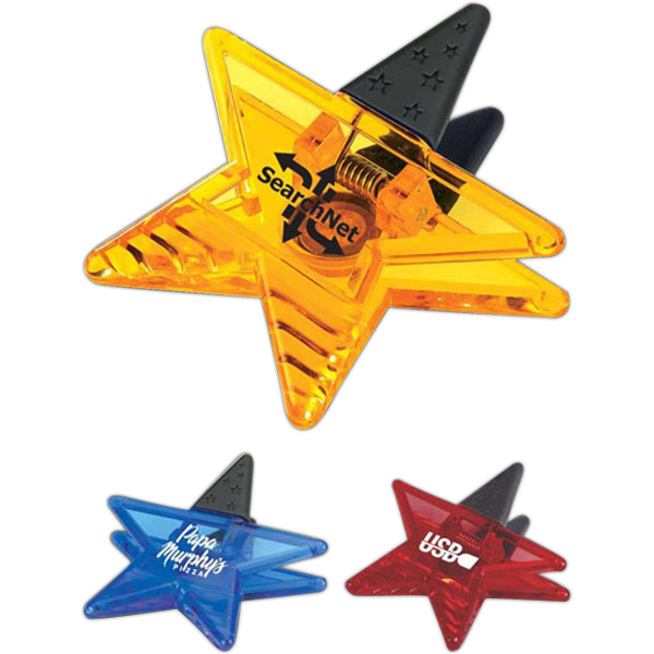 Personalized Star Power Clip
