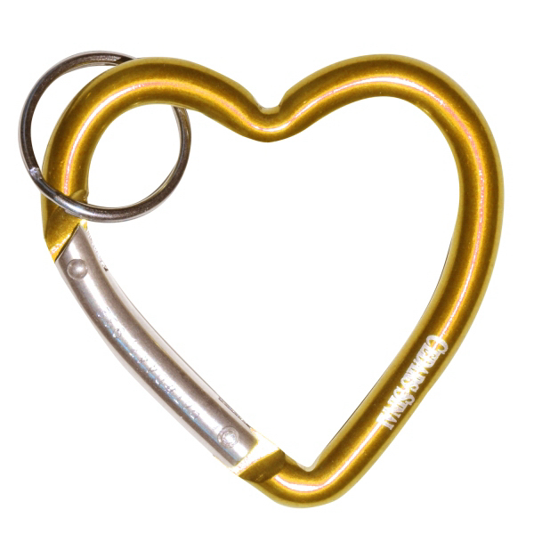 Customized Heart Carabiner