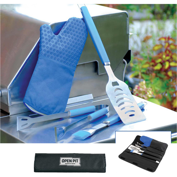Customized Silicone BBQ Set