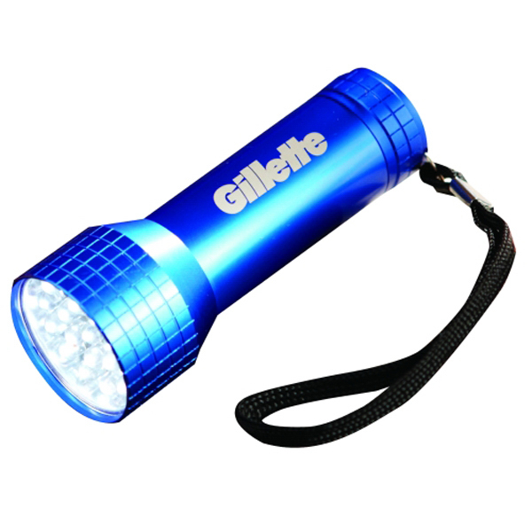 Customized Blackjack 21 LED Flashlight