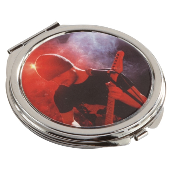 Promotional Round Metal Compact Mirror