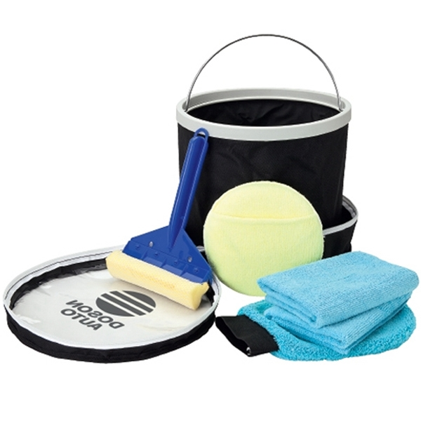 Imprinted Auto wash kit