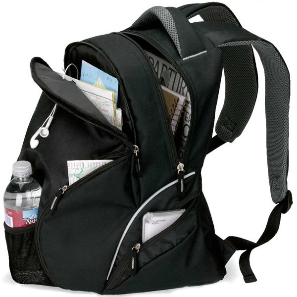 Printed Travel backpack
