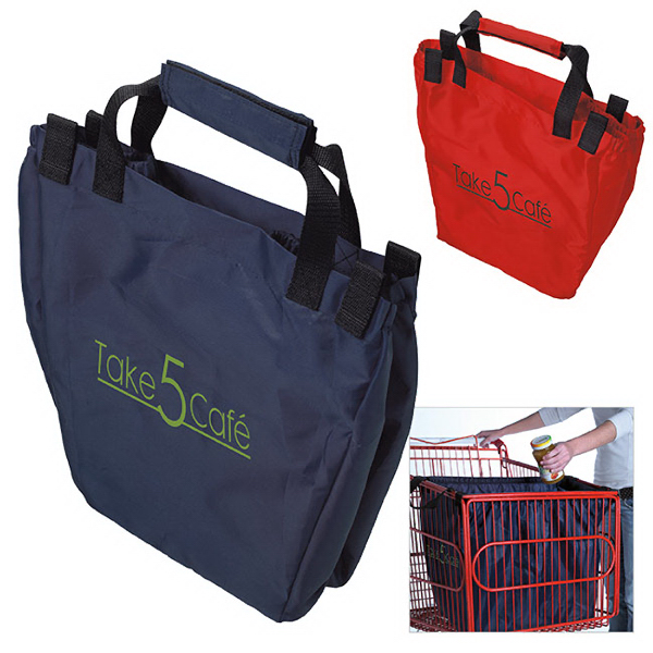 Personalized Grocery Cart Tote