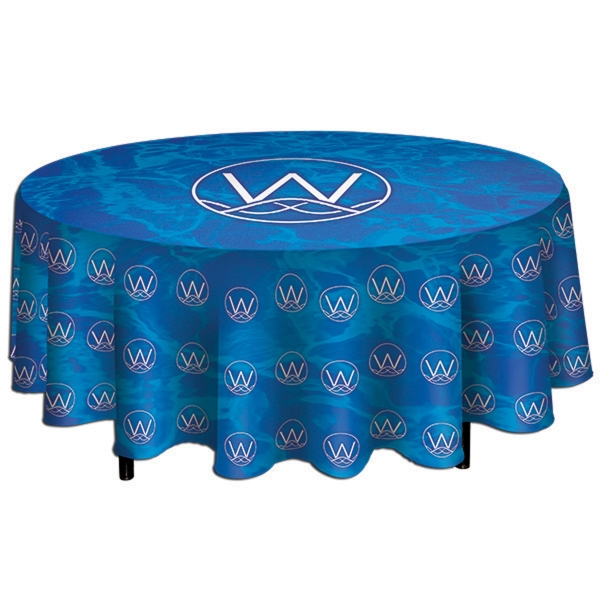 Promotional round table throw usimprints for Table th row group