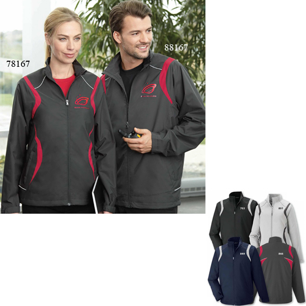 Personalized Men's Venture North End (R) Lightweight Mini Ottoman Jacket
