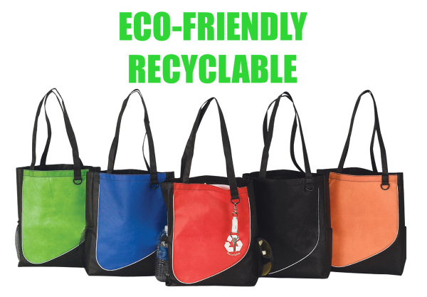 Imprinted Eco friendly tote