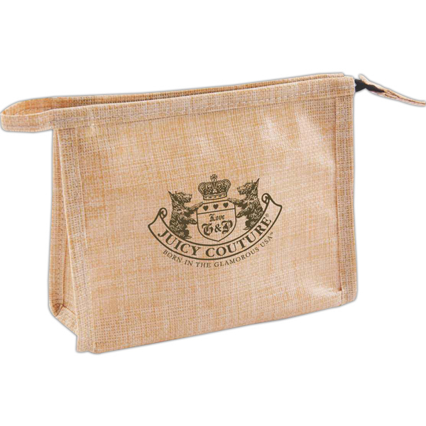 Custom Natural jute amenity bag