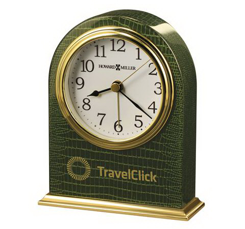 Printed Madison Table Alarm Clock