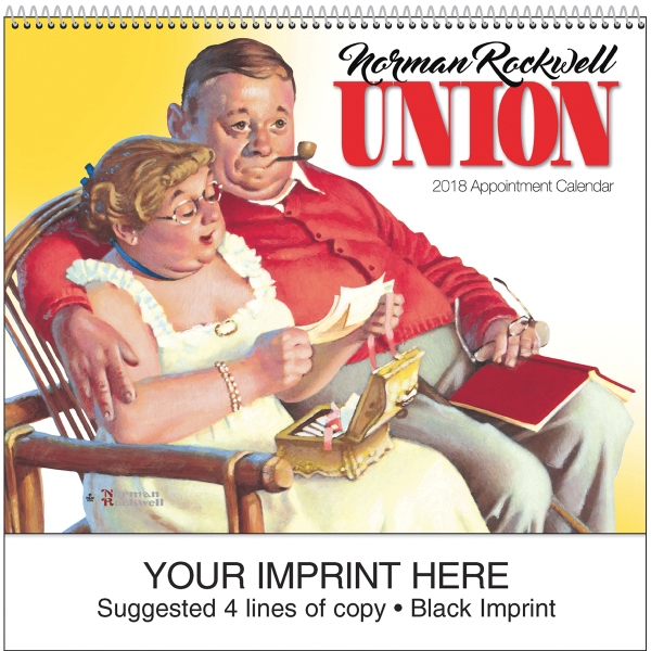 Personalized Rockwell Union Appointment Calendar