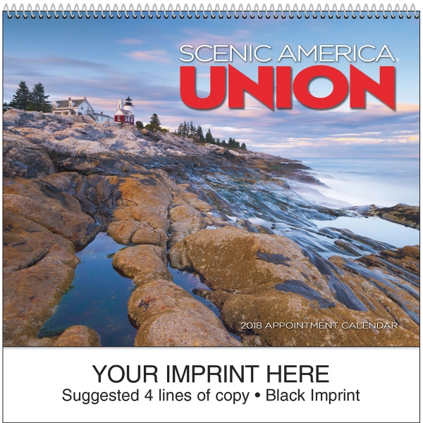 Printed Scenic Union Appointment Calendar