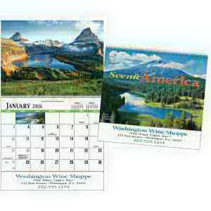 Promotional Scenic America (R) Special Markets Calendar