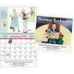 Imprinted Rockwell Special Markets Calendar