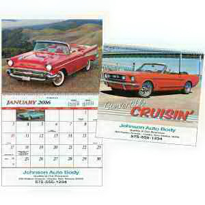 Custom Convertible Cruisin' Special Markets Calendar