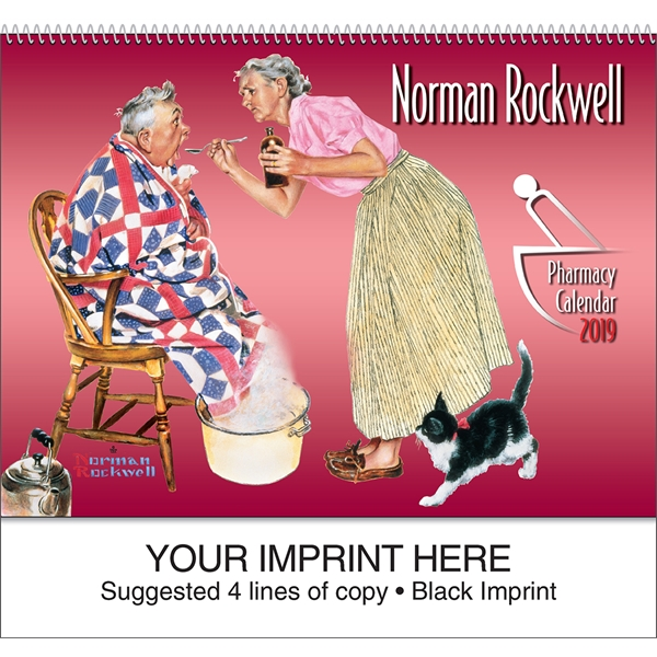 Customized Rockwell Pharmacy Special Markets Calendar
