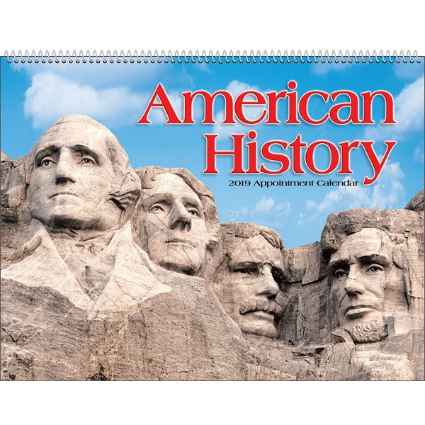 Promotional American History Appointment Calendar