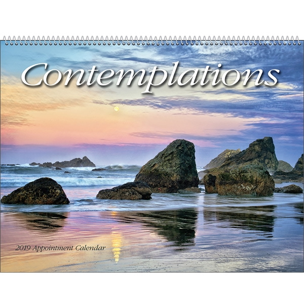 Promotional Contemplations Appointment Calendar
