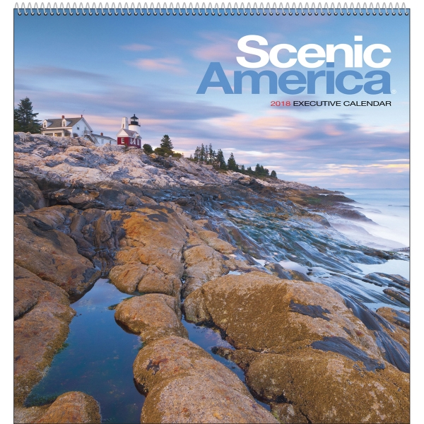 Customized Scenic America (R) Executive Appointment Calendar