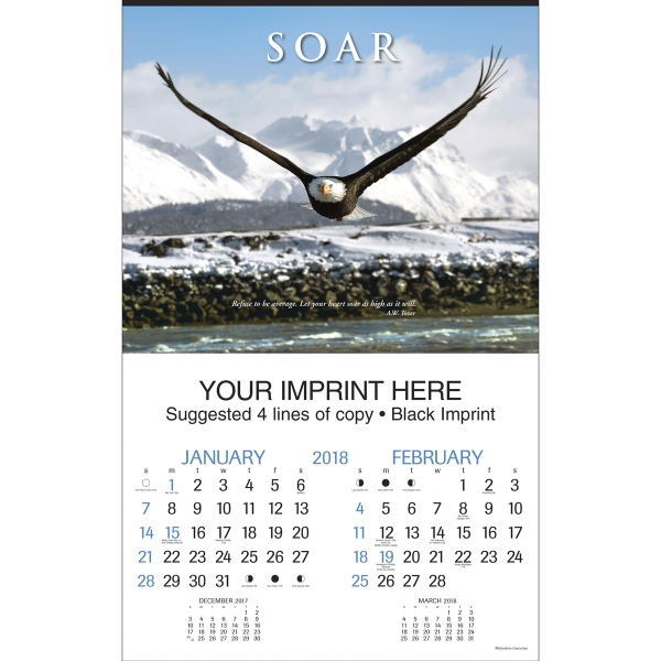Printed Motivations Executive Calendar