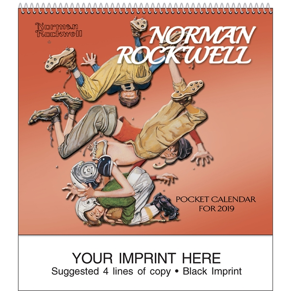 Promotional Rockwell Pocket Calendar
