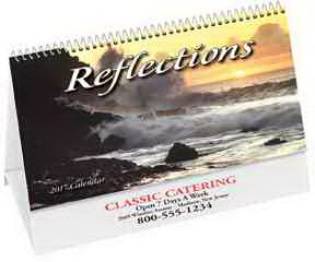 Printed Reflections Desk Calendar