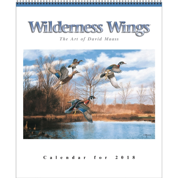 Custom Wilderness Wings (R) six-sheet Calendar