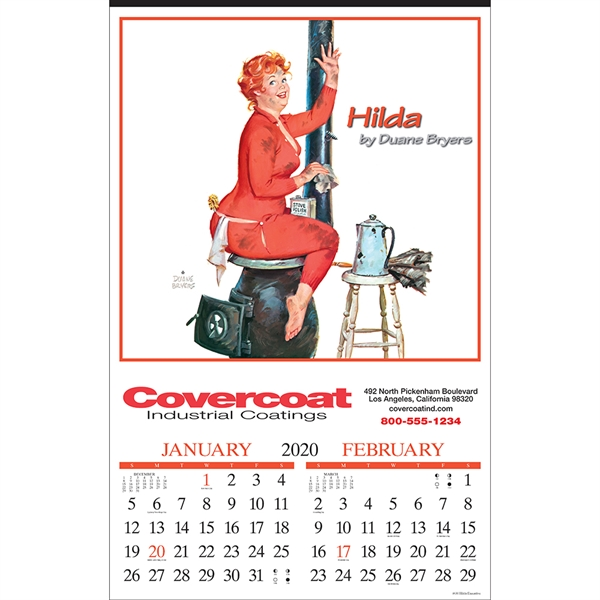 Promotional Hilda Executive Calendar