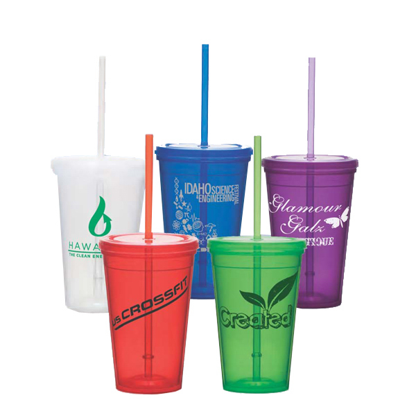 Custom 16 oz Double Wall Economy Tumbler
