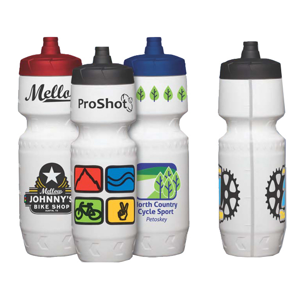 Custom 24 oz Premium LDPE Bike Bottle