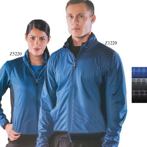 Custom Torino Heat Embossed Softshell Jacket