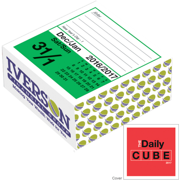 Personalized The Daily Cube Calendar