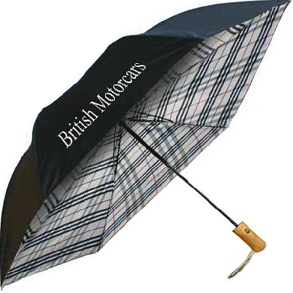 Personalized Undercover Plaid Auto-Open Folding