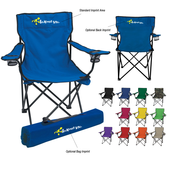 Personalized Folding Chair With Carrying Bag