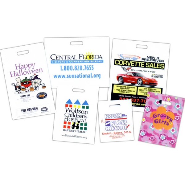 Promotional Custom Printed Grab Bag with Coupon