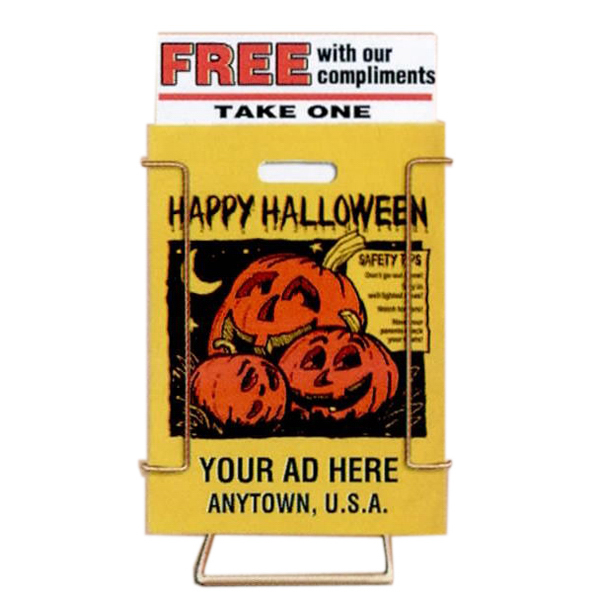 Printed Halloween Bag Dispenser