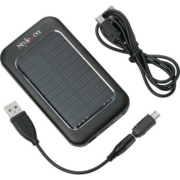 Personalized Solar Power Pack (2000 mAh)