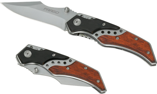 Custom Timberman Pocket Knife