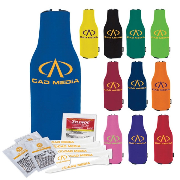Imprinted Zip Up KOOZIE (R) Tee Kit