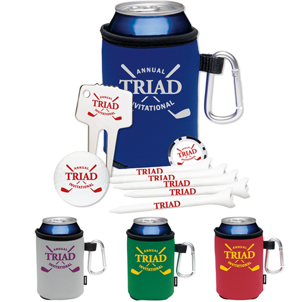 Customized High Rollers KOOZIE (R)) Golf Event Kit - DT (R) SoLo