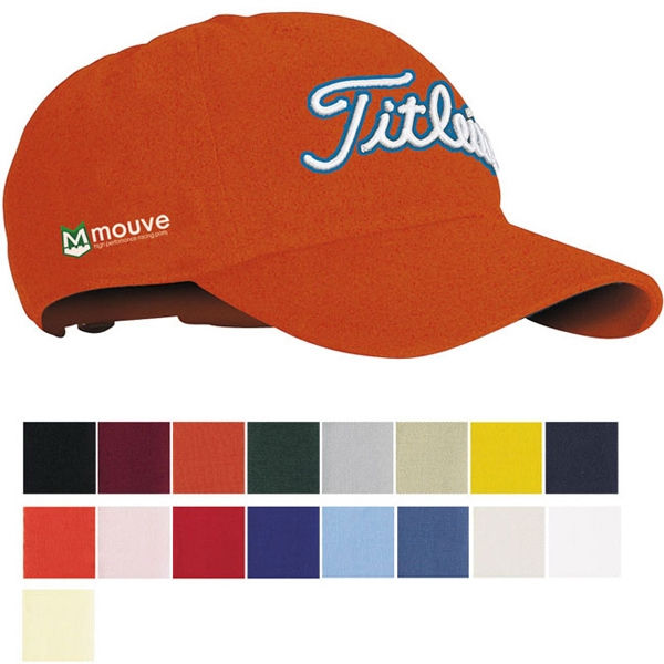 Printed Titleist (R) Unstructured Chino Twill Cap
